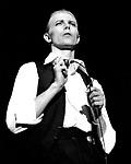 David Bowie 1976 at Wembley<br />© Chris Walter
