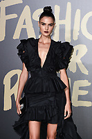 Blanca Padilla<br /> arriving for the Fashion for Relief show 2019 at the British Museum, London<br /> <br /> ©Ash Knotek  D3519  14/09/2019