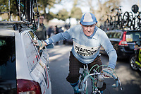 The Strade Bianche roots come from a vintage rac event called 'L'Eroica'<br /> <br /> 13th Strade Bianche 2019 (1.UWT)<br /> One day race from Siena to Siena (184km)<br /> <br /> ©kramon
