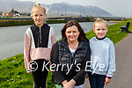 Enjoying a stroll in Blennerville on Thursday, l to r: Alva Sheehy, Fiona Tobin and Roisin Sheehy.