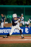 Brandon Bishop (17) during the WWBA World Championship at Lee County Player Development Complex on October 9, 2020 in Fort Myers, Florida.  Brandon Bishop, a resident of College Station, Texas who attends A&M Consolidated High School, is committed to Texas A&M.  (Mike Janes/Four Seam Images)