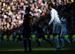 Luis Alberto Suarez Diaz of FC Barcelona and Raphael Varane of Real Madrid look on during the La Liga 2017-18 match between Real Madrid and FC Barcelona at Santiago Bernabeu Stadium on December 23 2017 in Madrid, Spain. Photo by Diego Gonzalez / Power Sport Images