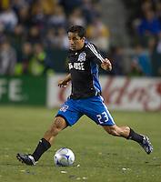 Ivan Guerrero,.San Jose Earthquakes vs Los Angeles Galaxy, April 4, 2008, in Carson California. The Galaxy won 2-0.