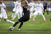 SAN JOSE, CA - NOVEMBER 4: Jackson Yueill #14 of the San Jose Earthquakes during a game between Los Angeles FC and San Jose Earthquakes at Earthquakes Stadium on November 4, 2020 in San Jose, California.
