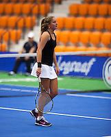 December 16, 2014, Rotterdam, Topsport Centrum, Lotto NK Tennis,  Inge Hendrikx  (NED)<br /> Photo: Tennisimages/Henk Koster