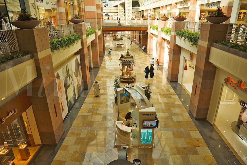 Dubai.  Shopping mall in Festival City, a recently constructed shopping, hotel and entertainment complex..