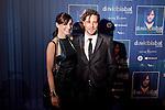 Spanish singer David Bisbal and actress Maria Valverde attend David Bisbal´s new music album premiere photocall at Callao cinema in Madrid, Spain. March 17, 2014. (ALTERPHOTOS/Victor Blanco)