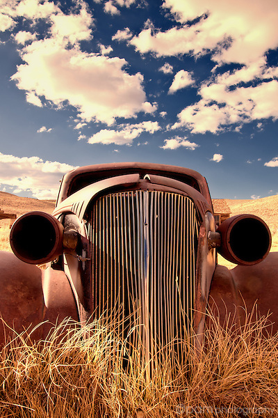All-american car in Bodie California