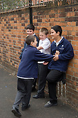 Playtime at Christ Church Bentinck  C of E Primary School, Marylebone. London