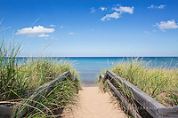 Happy Little Clouds, M28 beach stair
