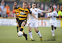25/08/2009  Copyright  Pic : James Stewart.sct_jspa07_alloa_v_dundee_utd  .MARK BROWN AND CRAIG CONWAY.James Stewart Photography 19 Carronlea Drive, Falkirk. FK2 8DN      Vat Reg No. 607 6932 25.Telephone      : +44 (0)1324 570291 .Mobile              : +44 (0)7721 416997.E-mail  :  jim@jspa.co.uk.If you require further information then contact Jim Stewart on any of the numbers above.........