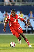 Luis Tejada forward Panama in action...Canada and Panama played to a 1-1 tie in Gold Cup play at LIVESTRONG Sporting Park. Kansas City Kansas.