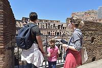 Il Colosseo riapre al pubblico