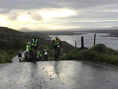 On the Sky Road Loop at Clifden in aid of the local RNLI