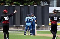 Ewen Chatfield Trophy Cricket Final - Taita v Johnsonville at Basin Reserve, Wellington, New Zealand on Sunday 10 January 2021. <br /> Photo by Masanori Udagawa. <br /> www.photowellington.photoshelter.com