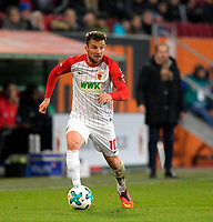 25.11.2017,  Football 1.Liga 2017/2018, 13.Match Day, FC Augsburg - VfL Wolfsburg, in der WWK-Arena Augsburg, Daniel Baier (FC Augsburg) *** Local Caption *** © pixathlon +++ tel. +49 - (040) - 22 63 02 60 - mail: info@pixathlon.de<br />