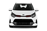 Car photography straight front view of a 2020 KIA Picanto GT-Line 5 Door Hatchback Front View
