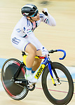 Leung Chung Pak of the X SPEED competes in Men Junior - Omnium IV Points Race 20KM during the Hong Kong Track Cycling National Championship 2017 on 25 March 2017 at Hong Kong Velodrome, in Hong Kong, China. Photo by Chris Wong / Power Sport Images