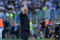 26th September 2021;  Stadio Olimpico, Rome, Italy; Italian Serie A football, SS Lazio versus AS Roma; Roma trainer Jose Mourinho gets impatient with his players