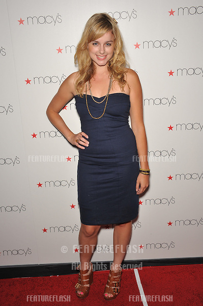 Erica Rhodes at Macy's Passport Glamorama Fashion event at the Orpheum Theatre, Los Angeles..September 16, 2010  Los Angeles, CA.Picture: Paul Smith / Featureflash