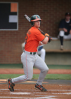 Mark Sobolewski the Miami Hurricanes vs. the Virginia Cavaliers: March 24th, 2007 at Davenport Field in Charlottesville, VA.  Photo by:  Mike Janes/Four Seam Images