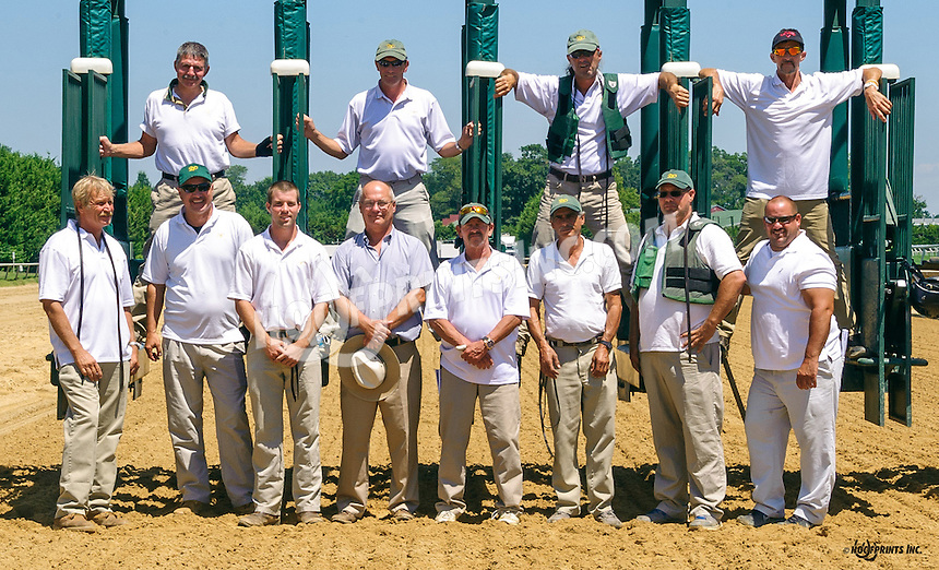 Gate Crew at Delaware Park on 8/3/16