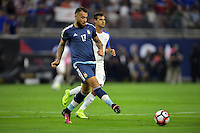 Houston, TX - Tuesday June 21, 2016: Nicolas Otamendi during a Copa America Centenario semifinal match between United States (USA) and Argentina (ARG) at NRG Stadium.
