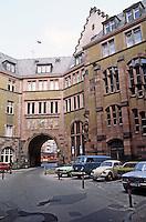 Frankfurt: Romer--interior court. Photo '87.