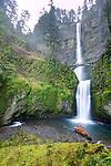 Multnomah Falls Oregon High Dynamic Range HDR Art Photographs pictures Columbia RIver Gorge