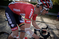 Kenny Dehaes (BEL/Lotto-Belisol) netted in <br /> <br /> 102nd Scheldeprijs 2014