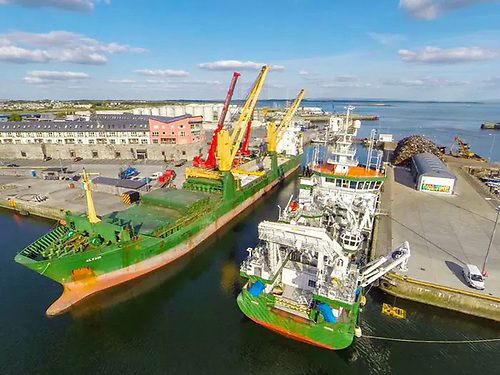 Galway Port, which is restricted by tide, applied in 2014 for a €126m expansion