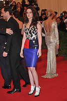 Kristen Stewart at the 'Schiaparelli And Prada: Impossible Conversations' Costume Institute Gala at the Metropolitan Museum of Art on May 7, 2012 in New York City. ©mpi03/MediaPunch Inc.