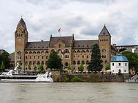 preußisches Regierungsgebäude, Koblenz, Rheinland-Pfalz, Deutschland, Europa, UNESCO Weltkulturerbe<br /> Prussian government house, Koblenz, Rhineland-Palatinate, Germany, Europe