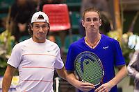 15-12-10, Tennis, Rotterdam, Reaal Tennis Masters 2010, Remi Groenendaal en Mark de Jong(R)