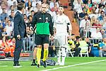 Real Madrid Sergio Ramos during La Liga match between Real Madrid and Atletico de Madrid at Santiago Bernabeu Stadium in Madrid, Spain. September 29, 2018. (ALTERPHOTOS/Borja B.Hojas)