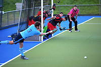 Auckland Intercity men's hockey match between Howick Pakuranga and Southern at Lloyd Elsmore Park in Auckland, New Zealand on Saturday, 25 July 2020. Photo: Dave Lintott / lintottphoto.co.nz