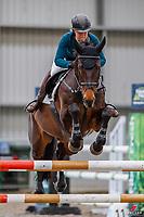 NZL-Christen Lane rides Henton Armada. Class 7: BDO Equestrian Horse 1.20m A2. 2020 NZL-Hygain Feeds Rotorua Spring Show. NEC Taupo. Saturday 26 September. Copyright Photo: Libby Law Photography