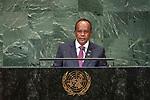 LOS general debate – 27 September<br /> <br /> PM<br /> <br /> His Excellency Rivo RAKOTOVAO President ad interim of the Republic of Madagascar