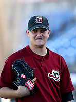 Wade Miley - Yakima Bears..Photo by:  Bill Mitchell/Four Seam Images