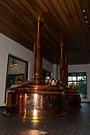 Copper brewing inside Sierra Nevada Restaurant