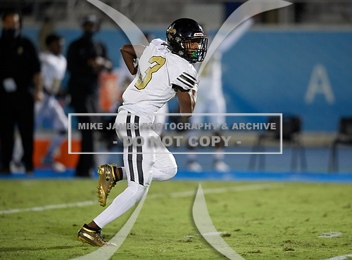 TRU Prep Academy Saints vs IMG Ascenders Varsity Football on November 20, 2020 in Bradenton, Florida. (Mike Janes Photography)