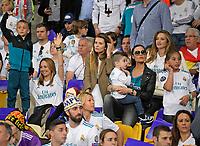 26.05.2018,  Football UEFA Champions League Finale 2018, Real Madrid - FC Liverpool, Olympiastadium Kiew (Ukraine). Spielerwomen of  Real Madrid *** Local Caption *** © pixathlon<br /> <br /> Contact: +49-40-22 63 02 60 , info@pixathlon.de