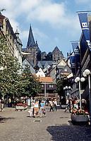 Marburg: Marktplatz. Photo '87.