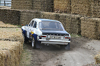 James Rimmer driving his 1970 1.8 litre 4 cylinder Ford Escort Mk1 RS1600 on the Forest Rally stage during the Goodwood Festival of Speed 2016 at Goodwood, Chichester, England on 24 June 2016. Photo by David Horn / PRiME Media Images