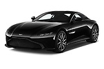 2018 Aston Martin Vantage - 2 Door Coupe Angular Front stock photos of front three quarter view