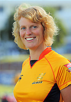 Sarah Bradbury. Wellington Blaze headshots at Allied Nationwide Basin Reserve, Wellington on Thursday, 9 December 2010. Photo: Dave Lintott / lintottphoto.co.nz