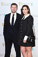 Dermot O'Leary and wife Dee<br /> BAFTA Film Awards 2020 nominees party, Kensington Palace, London.<br /> <br /> ©Ash Knotek  D3553 01/02/2020
