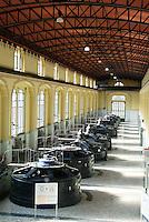 """Trezzo sull'Adda (Milano), centrale idroelettrica ENEL """"Taccani"""" --- Trezzo sull'Adda (Milan), ENEL hydroelectric plant """"Taccani"""""""