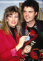 Donny and Debbie Osmond 1992<br /> Photo by Adam Scull/PHOTOlink