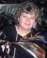 Shelley Winters 1985<br /> Photo By John Barrett/PHOTOlink